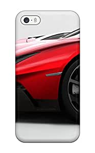 Hot AxlIhve2878asmbt Lamborghini Aventador J 34 Tpu Case Cover Compatible With Iphone 5/5s