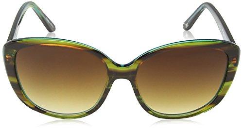 Femme K00031900 Lunettes Kipling Green de Tortoise soleil Sunglass Fash Vert fqppx1U