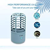 Cahot Portable UV Disinfection Lamp, Travel-Size UV Light Sterilizer, One Button Operation, Ideal for Home, Bedroom, Toilet, Office and Business Travel