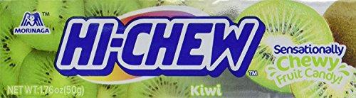 Morinaga Hi-chew Fruit Chews (Pack of 10) (Kiwi, 1.76 oz x 10 pk) by Hi-Chew