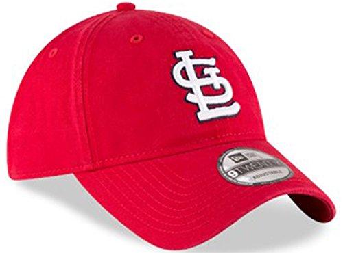29406a5f7 Authentic St. Louis Cardinals Core Classic 9TWENTY Adjustable Hat – Red