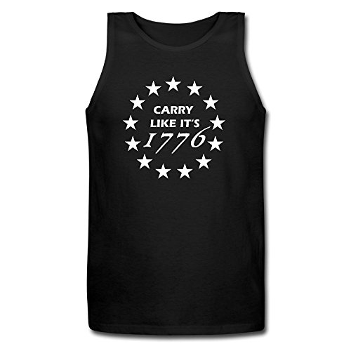 WSGREGD OOIEW Young Men Carry Like It's 1776 Undershirt Workout