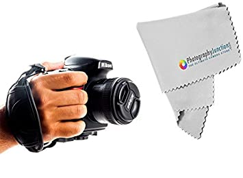 Fotografía de derivación mano agarre correa para cámara réflex ...