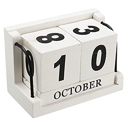 Vintage Style Pp Perpetual Calendar Diy Calendar Art Crafts Home Office School Desk Decoration Gifts Handsome Appearance Calendars, Planners & Cards