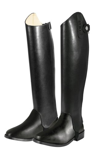 Leather PFIFF Black Boots AF Shafts BOOqnFw51