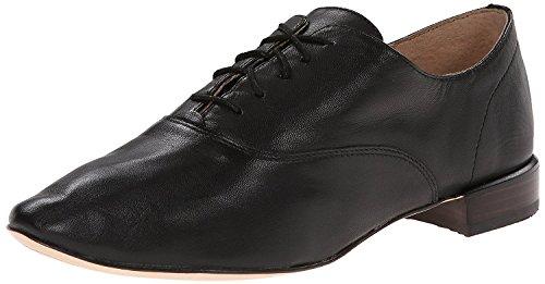 Corso Como Women's Soho Oxford Black Leather Lace up Shoes Size 6 M
