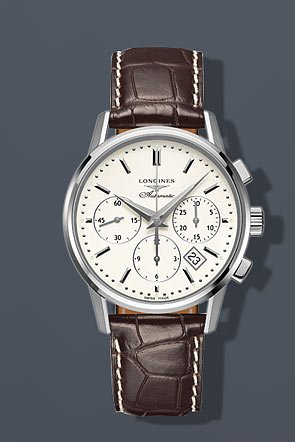 Longines Flagship Heritage Silver Dial Automatic Chronograph Mens Watch L27494722