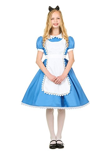 Supreme Alice Costume Girl's Alice in Wonderland Dress Costume Medium