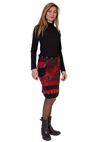 Jupe MISSISSIPPI Monde Unique Du Rouge Coton Taille EqCnBgCw