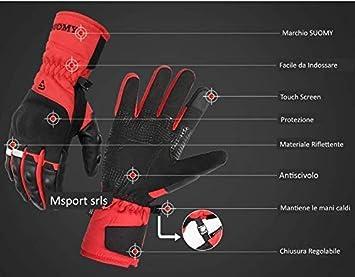 Gants Moto Hiver 100/% Impermeable Thermique Protection /écran Tactile pour Homme//Femme