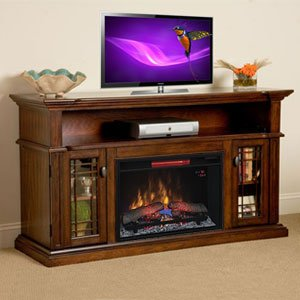 ChimneyFree Wallace Infrared Electric Fireplace Entertain...