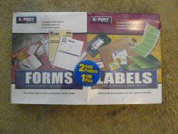 Small & Home Office Dual Product of Forms & Labels