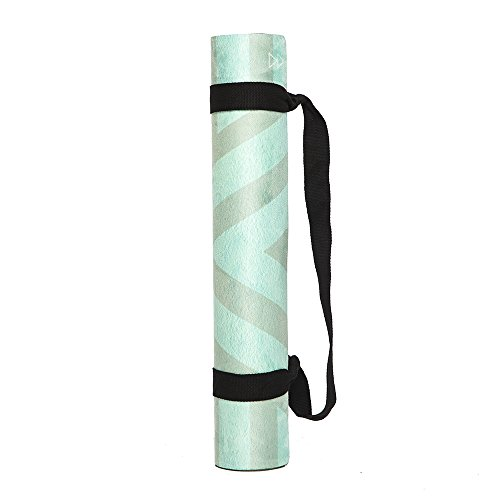 Eco Natural Yoga Mat Towel Combo: The Combo Yoga Mat. Luxurious, Non-slip, Mat/Towel
