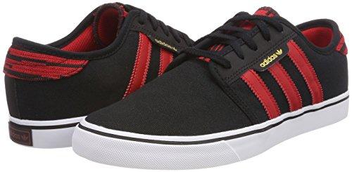 Escarl Ftwbla 000 De Noirs Hommes Pour Chaussures Seeley Skateboard Adidas negbas SqaPFwAn