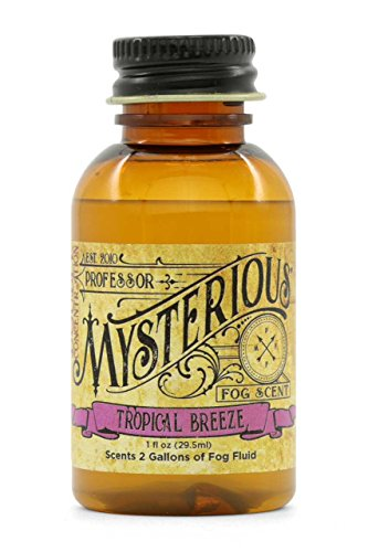 Professor Mysterious Tropical Breeze Fog Machine Scent, ounce, 2x concentrate, treats 2 gallons