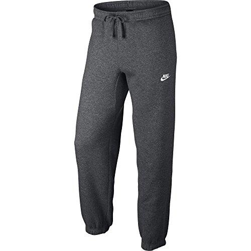 Nike Sportswear Cuffed Fleece Sweatpants (3XL, Grey/White) ()
