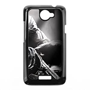 HTC One X Cell Phone Case Black Call of Duty Black Ops RAR Design Plastic Cell Phone Case