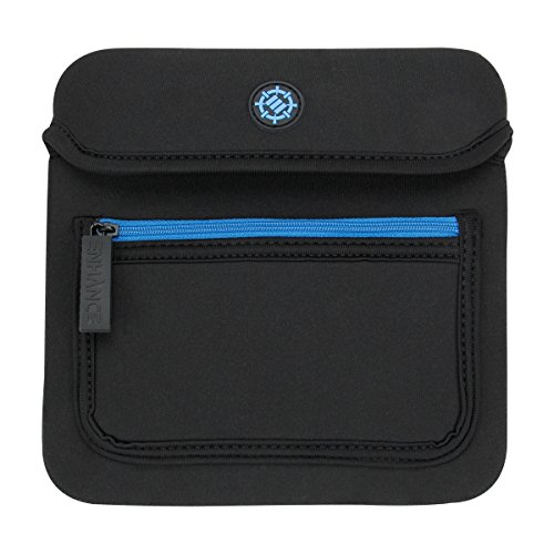 ENHANCE Touchpad Trackpad Sleeve Case for Apple Magic Trackpad 2, Logitech Wireless Touchpad T650, Wacom Wireless Bamboo Touch & More (up to 7 x 7 Inches) with Neoprene Construction, Zipper Storage (Bamboo Touchpad)