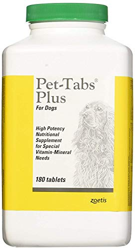 Pet-Tabs Plus For Dogs - 180 Tabs (Tablets Dogs 180)