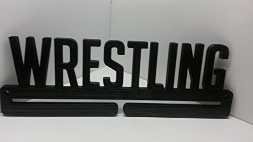 Wrestling Sports Medal Display Rack Holder Hanger by Medallurgy