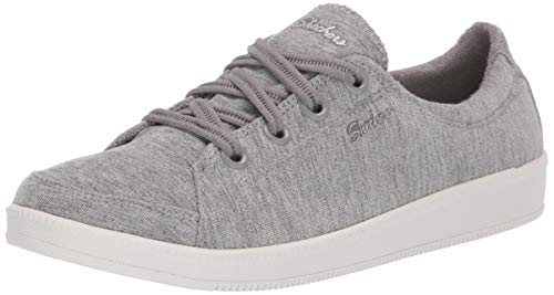 Skechers Women's Madison Ave-Inner City Sneaker, Grey, 6.5 M US