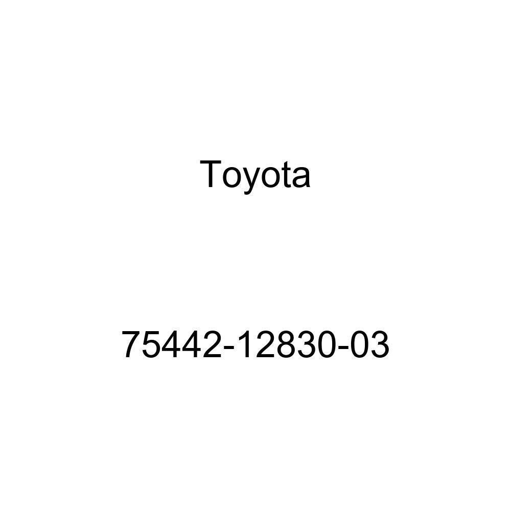 TOYOTA 75442-12830-03 Name Plate