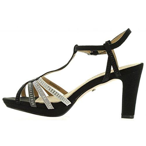 Sandalias de Mujer MARIA MARE 66207 C25770 SUEDI NEGRO