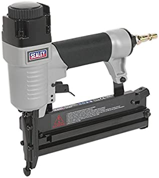 Silverline 633524 18 Gauge Air Nailer Stapler 10-50mm Brad Nails 13-40mm Staples