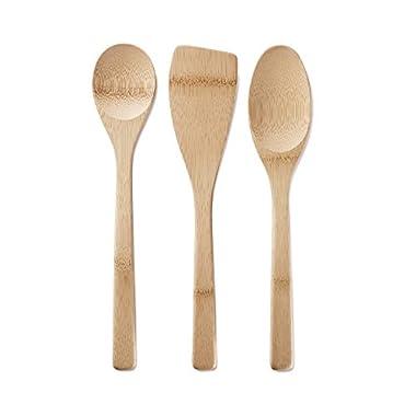 BambuKitchen Basics Bamboo Utensils, Set of 3