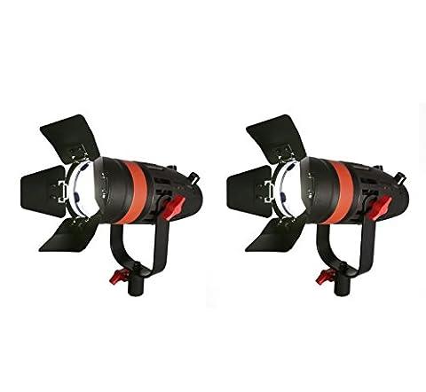 2 Boltzen 55 watt LED Fresnel Lights - 55w Tv