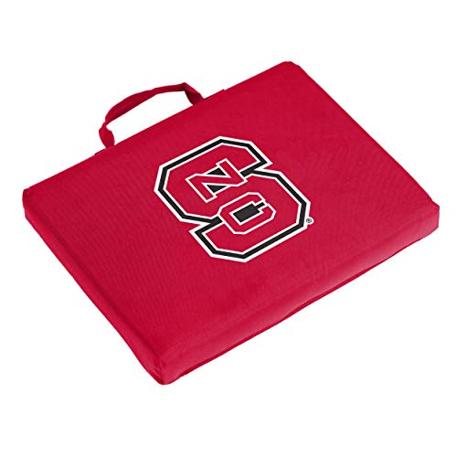 Mlb Logo Seat Cushion - Logo Brands NCAA North Carolina State Bleacher Cushion, One Size, Multicolor