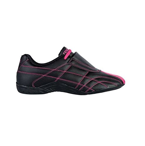 Century Lightfoot Martial Arts Shoes, Black/Pink, Size 10.5