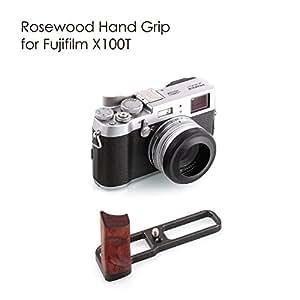KAMERAR ROSEWOOD HAND GRIP FOR FUJIFILM X100T (Black)