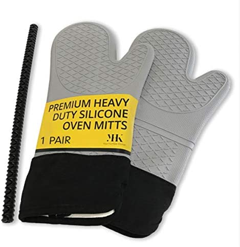 Pack Extra Long Silicone Mitts