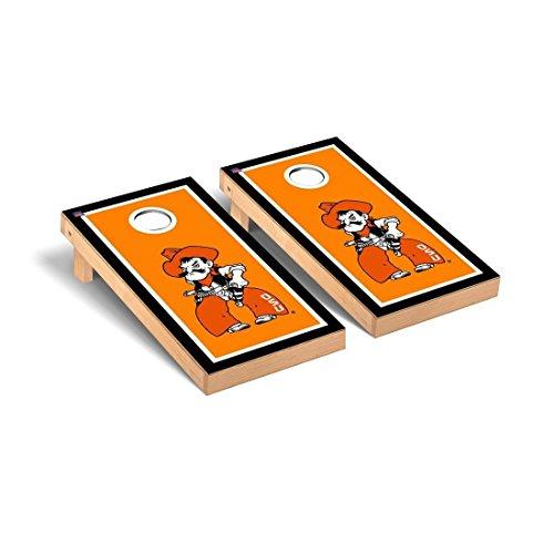 Victory Tailgate Oklahoma State Cowboys Desktop Cornhole Game Set Border Version - Oklahoma State Cowboys Tabletop
