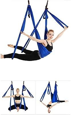 Juego de hamaca de yoga para ejercicios de inversión de yoga antigravedad
