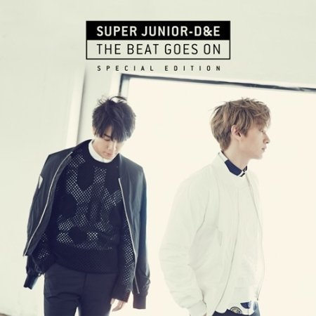Super Junior D&E - [ THE BEAT GOES ON ] Special Edtion CD + Unfolded Poster (shipped in a tube) Sealed K-POP D&E SUJU