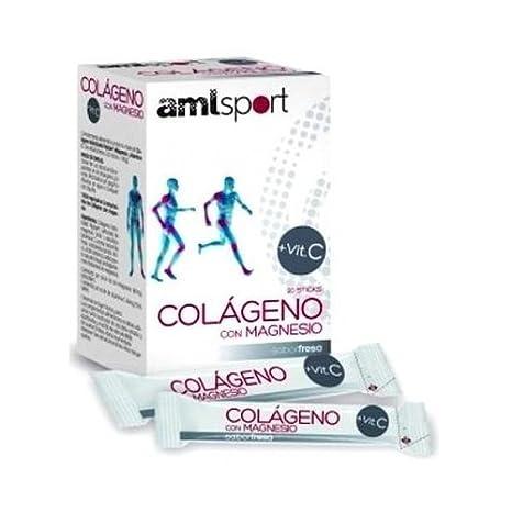 Colágeno con Magnesio Amlsport 20 palos o sticks de Ana Maria Lajusticia: Amazon.es: Salud y cuidado personal