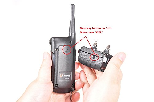 Image of Aetertek Upgrade At-918c Recharge Waterproof Remote 550m/600 Yard Training Collar Auto Anit Bark Function 9 Level Shock Vibrate Beep Tone Trainer for 1dog