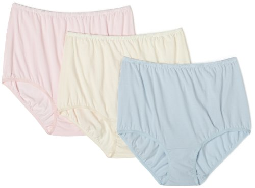 f08475e49ce Vanity Fair Women's Perfectly Yours Classic Cotton Extra Large Brief Panty  15819