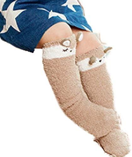 ソックス 靴下 赤ちゃん ベビー 子供 女の子 男の子 ガールズ ボーイズ キッズ オシャレ 秋冬 厚手 防寒 暖かい プレゼント サル コアラ 可愛い