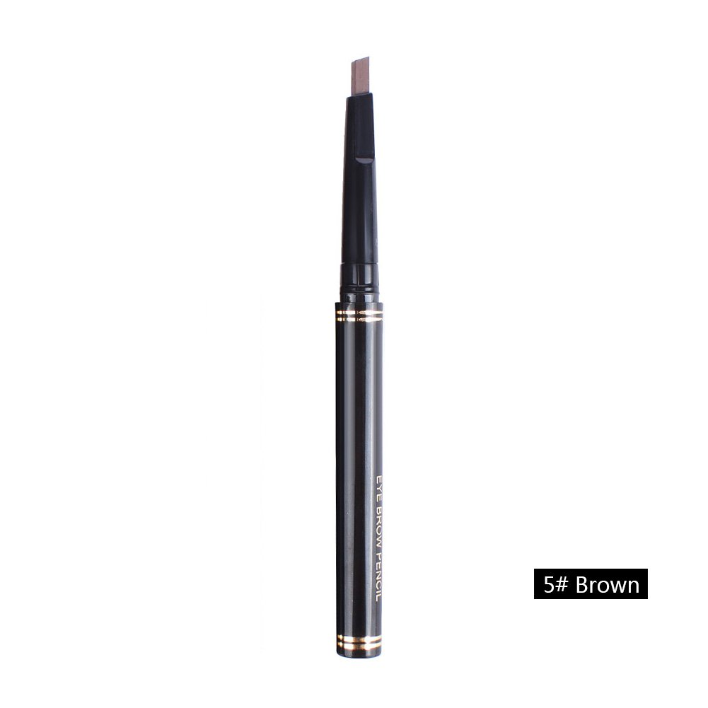 Ownsig Pro Waterproof Automatic Womens Eyebrow Pencil (Brown -5#)