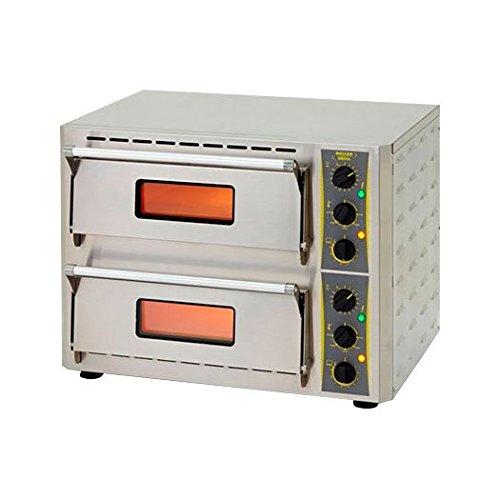 27'' Countertop Brick Primo Duo Pizza Oven - Equi by Equipex
