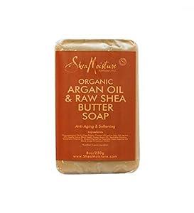 SheaMoisture Argan Oil & Raw Shea Butter Soap - 8 oz