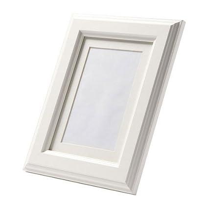 Amazon Ikea Virserum Photo Picture Frame White Wood Glass