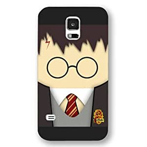 UniqueBox - Customized Personalized Black Frosted Samsung Galaxy S5 Case, Harry Potter Samsung Galaxy S5 case, Harry Potter Hogwarts Marauders Map Samsung Galaxy S5 case, Only fit Samsung Galaxy S5