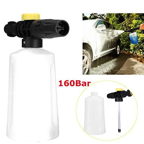 700ml Adjustable Car Wash Spray Jet Snow Foam Lance Bottle Nozzle Sprayer Pressure Car Washer For Karcher K2~ K7 by LOCHI