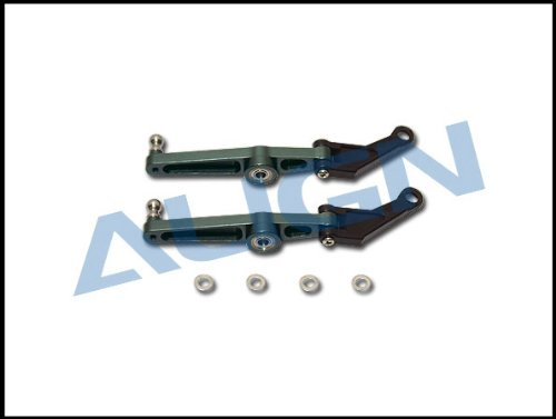 Align Metal Washout Control Arm Set: All T-Rex 600