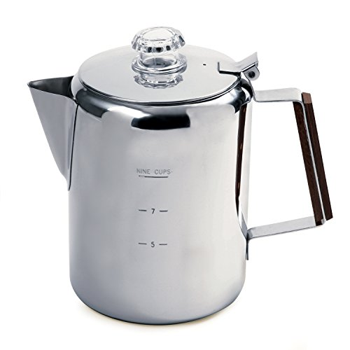 Norpro Stainless Steel 9-Cup Percolator ()