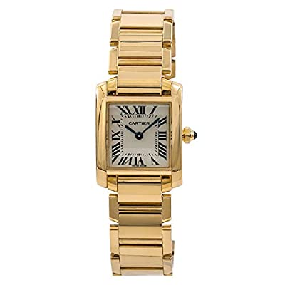 Cartier Tank Francaise Quartz Female Watch W520065 (Certified Pre-Owned) by Cartier